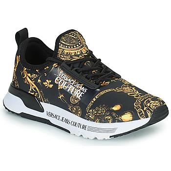 Pantofi Femei Pantofi sport Casual Versace Jeans Couture REMO Negru / Imprimeuri / Baroc