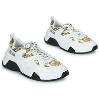 Pantofi Femei Pantofi sport Casual Versace Jeans Couture FELINA Alb / Imprimeuri / Baroc