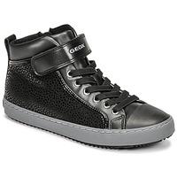 Pantofi Fete Pantofi sport stil gheata Geox KALISPERA Negru