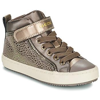 Pantofi Fete Pantofi sport stil gheata Geox KALISPERA Auriu