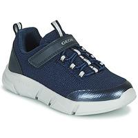 Pantofi Fete Pantofi sport Casual Geox ARIL Albastru