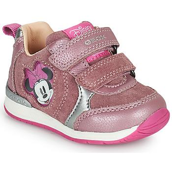 Pantofi Fete Pantofi sport Casual Geox RISHO Roz