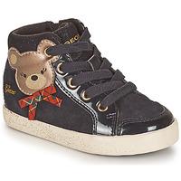 Pantofi Fete Pantofi sport stil gheata Geox KILWI Negru
