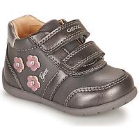 Pantofi Fete Pantofi sport Casual Geox ELTHAN Gri