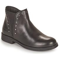 Pantofi Fete Ghete Geox AGATO Negru