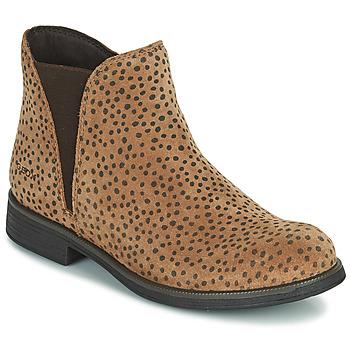 Pantofi Fete Ghete Geox AGATO Maro
