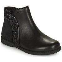 Pantofi Fete Ghete Geox SHAWNTEL Negru
