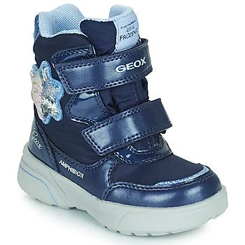 Pantofi Fete Cizme de zapadă Geox SVEGGEN ABX Albastru