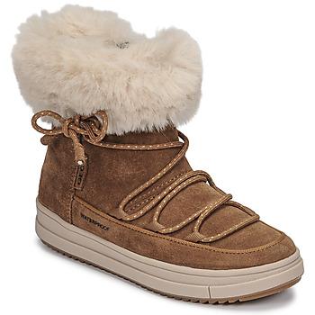 Pantofi Fete Ghete Geox REBECCA WPF Camel