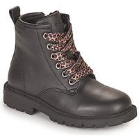 Pantofi Fete Ghete Geox SHAYLAX Negru