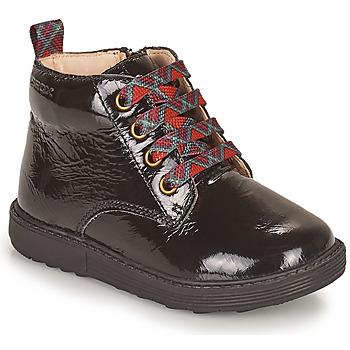 Pantofi Fete Ghete Geox HYNDE Negru