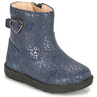 Pantofi Fete Cizme casual Geox HYNDE Albastru