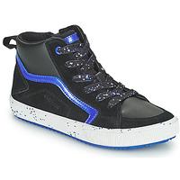 Pantofi Băieți Pantofi sport stil gheata Geox ALONISSO Negru / Albastru