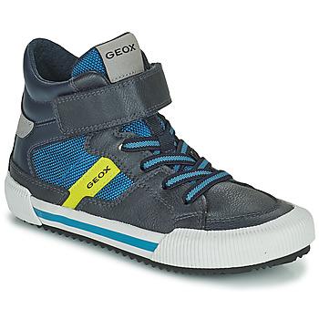 Pantofi Băieți Pantofi sport stil gheata Geox ALONISSO Albastru