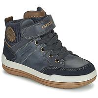 Pantofi Băieți Ghete Geox CHARZ ABX Albastru