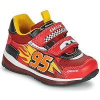 Pantofi Băieți Pantofi sport Casual Geox TODO Roșu / Galben