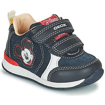 Pantofi Băieți Pantofi sport Casual Geox RISHO Albastru