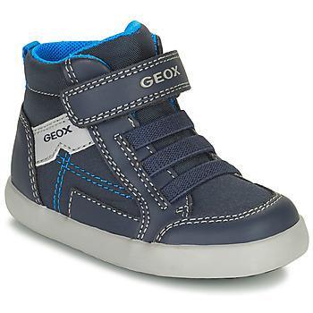 Pantofi Băieți Pantofi sport stil gheata Geox GISLI Albastru