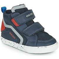 Pantofi Băieți Pantofi sport stil gheata Geox KILWI Albastru