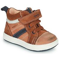 Pantofi Băieți Pantofi sport stil gheata Geox BIGLIA Maro