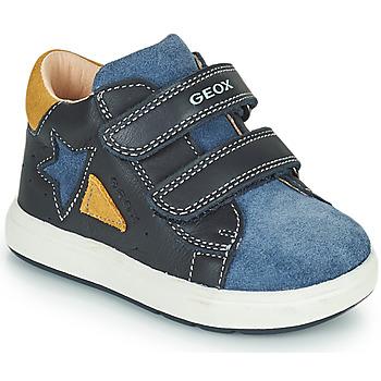 Pantofi Băieți Pantofi sport Casual Geox BIGLIA Albastru