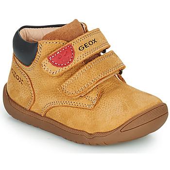Pantofi Băieți Ghete Geox MACCHIA Maro