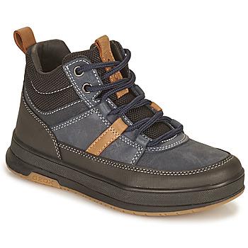 Pantofi Băieți Ghete Geox ASTUTO Albastru