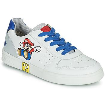 Pantofi Băieți Pantofi sport Casual Geox DJROCK Alb / Albastru
