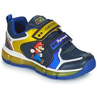 Pantofi Băieți Pantofi sport Casual Geox ANDROID Albastru / Galben