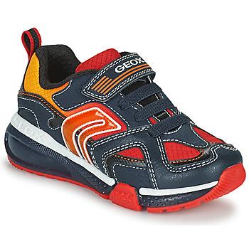 Pantofi Băieți Pantofi sport Casual Geox BAYONYC Albastru / Portocaliu