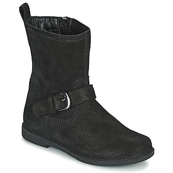 Pantofi Fete Cizme casual Geox SHAWNTEL Negru