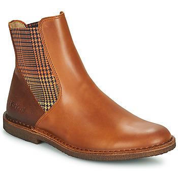 Pantofi Femei Ghete Kickers TINTO Camel