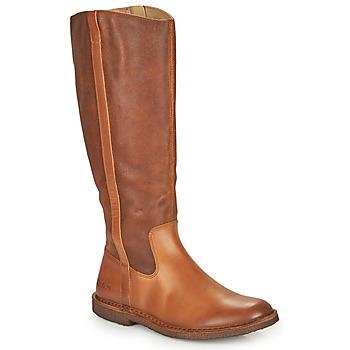 Pantofi Femei Cizme casual Kickers TINTTA Camel