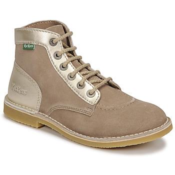 Pantofi Femei Ghete Kickers ORILEGEND Bej