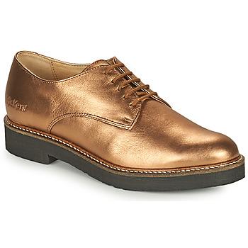 Pantofi Femei Pantofi Derby Kickers OXFORK Bronz