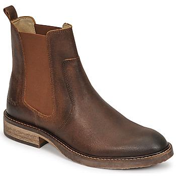 Pantofi Femei Ghete Kickers ALPHASEA Camel