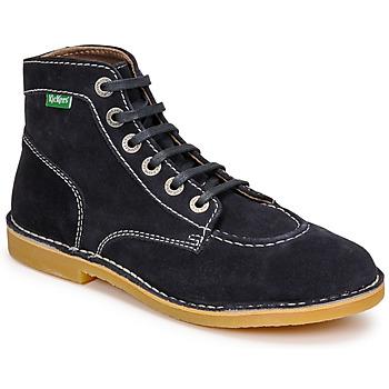 Pantofi Femei Ghete Kickers ORILEGEND Albastru