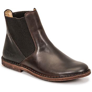 Pantofi Femei Ghete Kickers TINTO Maro