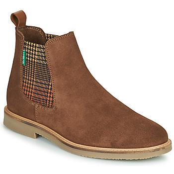 Pantofi Femei Ghete Kickers TYGA Camel