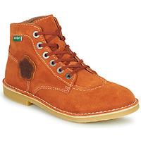 Pantofi Femei Ghete Kickers ORILEGEND Roșu