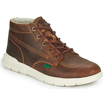 Pantofi Bărbați Ghete Kickers KICKI HI 3 Maro