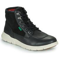 Pantofi Bărbați Ghete Kickers KICKI HI 4 Negru