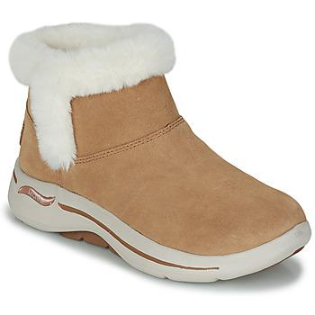 Pantofi Femei Ghete Skechers GO WALK ARCH FIT Maro
