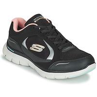 Pantofi Femei Pantofi sport Casual Skechers FLEX APPEAL 4.0 Negru / Roz