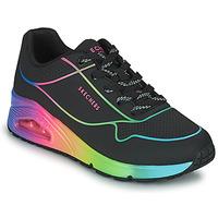 Pantofi Femei Pantofi sport Casual Skechers UNO Negru / Multicolor
