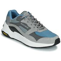Pantofi Bărbați Pantofi sport Casual Skechers GLOBAL JOGGER Gri / Albastru