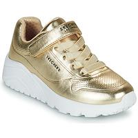 Pantofi Fete Pantofi sport Casual Skechers UNO LITE Auriu
