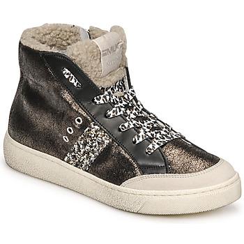 Pantofi Femei Pantofi sport stil gheata Meline CAR1425 Negru