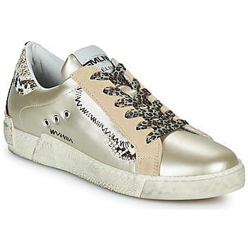 Pantofi Femei Pantofi sport Casual Meline NK139 Auriu / Piton