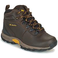 Pantofi Copii Drumetie și trekking Columbia YOUTH  NEWTON RIDGE Maro